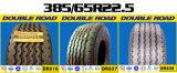 자격이 된 새로운 고무 타이어 작은 조각 타이어 구매자 광선 트럭 타이어 385 65 22.5