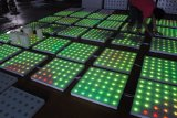 Efecto impermeable LED Dance Floor del disco 61*61 cm RGB de la boda del partido