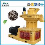 Máquina do moinho da pelota da madeira de combustível contínuo da biomassa do Ce (1-2ton/h)