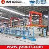 Гальванизируя оборудование в линии металлизации
