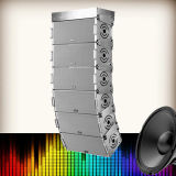 X-1828 Dual 8 Inches Full bidirezionale Range Professional Rigging Line Array Speaker