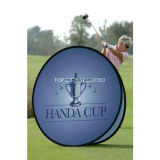 2017 de Hete uit Pop Tentoonstelling van de Reclame van de Gebeurtenis van de Druk van de Verkoop kleurstof-Sub Openlucht omhoog een Banner van het Frame met de Grafische PromotieTribune van het Teken van de Vertoning van de Dag van het Spel van de Sporten van het Golf
