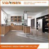 Vente chaude de Module de cuisine en bois solide de meubles de type d'U