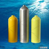 水中スキューバアルミニウムダイビングの酸素ボンベ