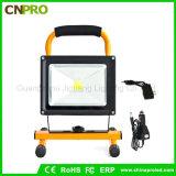 Projector recarregável portátil de acampamento ao ar livre das luzes de inundação 10With20With50W
