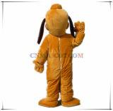 Costume del fumetto della mascotte del Pluto del cane del costume della pelliccia di alta qualità