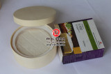 Rond décorer les boîtes en bois à fromage à vendre