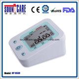 Grand moniteur sec de pression sanguine de bras d'affichage à cristaux liquides Digital (point d'ébullition 80AH) pour le soin de famille