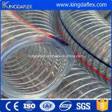 Tubo flessibile di rinforzo a spirale del filo di acciaio del PVC di Kingdaflex