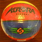 Baloncesto barato de Desgastar-Resistencia modificado para requisitos particulares baloncesto del PVC de la calidad 8pieces 4#5#6#7# Sg5105