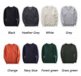 Hot Selling Custom High Quality Hommes Cotton Crew Neck Sweel