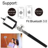 Palillo incorporado de Bluetooth Selfie del acero inoxidable de siete secciones para Smartphone