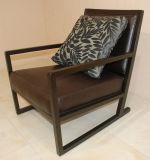 Sofá de madeira da cadeira fácil do lazer da mobília do restaurante do hotel para o café