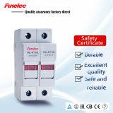 Sostenedor del fusible de la conexión del fusible del alto rendimiento 63A 10X38m m con la luz del LED
