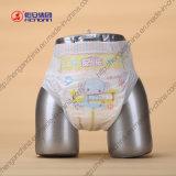 Couche-culotte jetable à extrémité élevé de bébé ultra mou et haut d'absorptivité