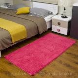 Alfombra copetuda de la manta del Chenille de Microfiber del dormitorio casero (80*200)