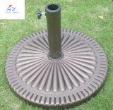 Base de base de parapluie de Sun de base de patio de base de parasol de résine