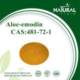 Aloe-Emodin 95% 98% mit starkem Reizmittel-Abführmittel; Vorgang