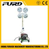 Torre de iluminación de la construcción del buen funcionamiento 1000W*4