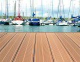 Hölzernes Plastic Composite Decking, WPC Solid Decking, 225 x 31mm