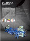 Máquina superior da modelação por injeção da cor automática do PVC três