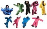 Saco de dormir que acampa de la caminata Actable del saco de dormir de la dimensión de una variable del cuerpo humano