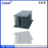 Contínuo - radiador de alumínio do dissipador de calor do relé do estado auto (CX-E)