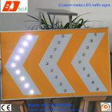 Segnali stradali esterni del LED di potere di traffico del contrassegno solare della freccia