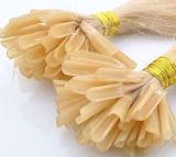 ブロンドカラーRemyのケラチンの毛の人間の毛髪の拡張