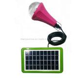 Nécessaire solaire portatif d'éclairage de jardin d'éclairage LED rechargeable solaire extérieur solaire de la lumière 18V