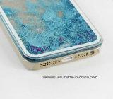 caisse liquide de téléphone de sable de l'étoile 3D de sable mouvant de PC d'interpréteur de commandes interactif dur liquide de dos pour le cas mobile de la couverture 6 de l'iPhone 5