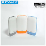 Modèle Pzx-C148factory Vente directe 10400mAh Mobile Power Bank for Phone