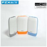 Крен силы прямой связи с розничной торговлей 10400mAh модели Pzx-C148factory передвижной для телефона