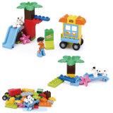 Juguetes creativos educativos de los bloques de los ladrillos del juguete DIY