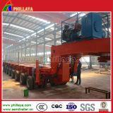 Multi-Righe rimorchio modulare della base bassa per trasporto pesante della strumentazione