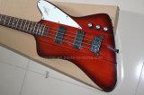 Нот Hanhai/красная электрическая басовая гитара с 4 шнурами