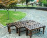 Bancada de jardim de madeira maciça com preço barato (M-X3021)