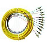Tresse de fibre optique de paquet du FC 12cores