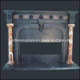 新しいデザイン黒の骨董品の大理石の暖炉(SY-MF120)