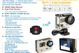 Hero4様式4kのスポーツのカムコーダー2.4Gリモート・コントロール防水WiFiのスポーツのカメラ