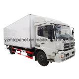 Corpo resistente do caminhão da carga seca de água FRP