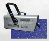 Neve da máquina DMX da neve dos efeitos especiais 1200W do estágio que faz a máquina
