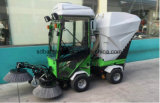 Made in China Diesel Absorção Ride-on Road Sweeping Cleaning Vehicle