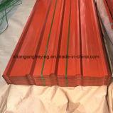 Toiture de Gi du Galvalume Roofing/Gl de la largeur 750-1000 (BC) avec 50-140G/M2