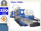 Torno horizontal resistente del CNC para el eje de pulido de torneado de las energías eólicas (CG61160)