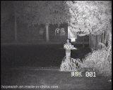 携帯用夜間視界赤外線レーザーの監視カメラ
