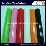 Película brillante de la etiqueta engomada del coche del abrigo del vinilo del coche del vinilo auto-adhesivo