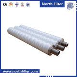 Gewundener Wundfiltereinsatz für Wasser-Reinigung
