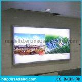 Pubblicità della casella chiara del tessuto esterno del LED