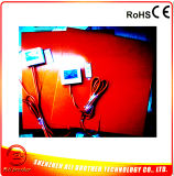 12V 220W 550*550*1.5mm Silikon-Gummi-Auto-Thermochromic Heizung